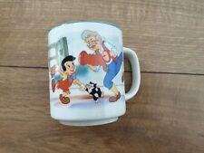 Beautiful Pinocchio Mug Disney Used