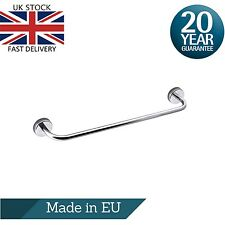Single Towel Bar Rail 50cm/19.7 inches Stainless Steel Wall Mount Self Adhesive