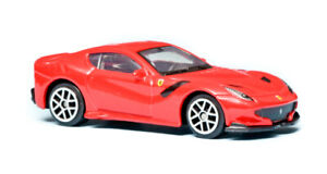 """2016 Ferrari F12 TDF Red Bburago Race & Play 1/64 3"""" inch Toy Car"""