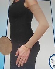 JOBST Bella Strong Armsleeve Silicone Dot Band Natural 15-20 mmHg Size 6 Reg