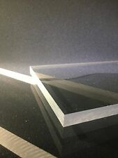 """1/2"""" Thick Clear Polycarbonate (POLYCARB) Sheet- Priced Per Foot- Cut to Size!"""