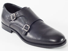 New Baldinini Black Leather Made in Italy Shoes Size 42 US 9