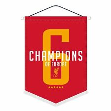 Liverpool FC Red UCL Champions  pennant LFC Official