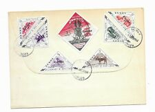 Great Britain Lundy Europa set first day cover