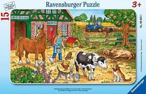 Glückliches Bauernhofleben. 15 Teile Rahmenpuzzle (2012, Game)