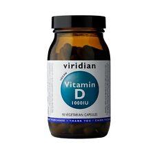 Viridian Vitamin D (Vegan) 1000iu, 90 Veg Caps