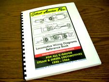 Gilbert American Flyer - Locomotive Wiring Diagrams - Reference Book - S-Gauge