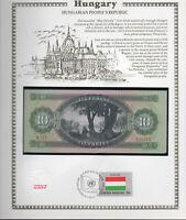 Set of 3 Notes P 168e 169f 170h 10 20 50 Forint 1975-1989 HUNGARY UNC