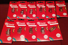 London 2012 Olimpiadi Coca Cola Welcome to the Games le cabine telefoniche 12 pin badge