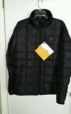 Terramar Nylon Down Jacket Mens Ski, Snow, Outdoors  Md Blk