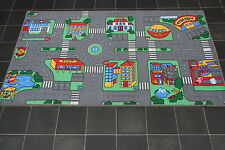 Large Children's Highway Roads 5'5''ft x 3'ft Kids Bedroom Car Racing Play Mat