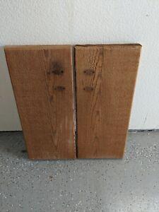Custom Rustic Thick SOLID REDWOOD Kitchen or Bathroom Beautiful Cabinet Doors