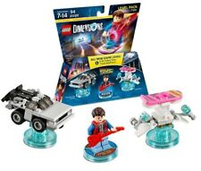 New - Lego Dimensions Back To The Future Level Pack