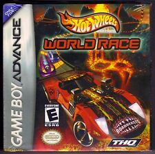 GBA HOT WHEELS WORLD RACE (2003) Nintendo of America, BRAND NEW & FACTORY SEALED