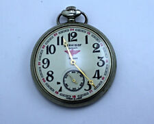 Pocket Watch Extremely Rare Ussr Molnija Serkisof Vintage Soviet Mechanical