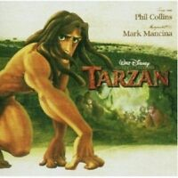 OST/TARZAN (PHIL COLLINS & MARK MANCINA) CD 16 TRACKS GERMAN SOUNDTRACK NEU