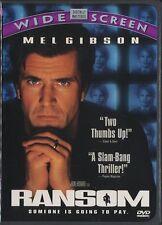 Ransom (DVD, 1997, Canadian, Widescreen) MEL GIBSON