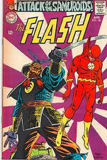 Flash #181 - Ross Andru Samurai - (Grade 8.0) 1968