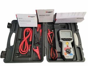 Megger MIT481 Telecom  Insulation & Continuity Tester w Box, Leads, User guide