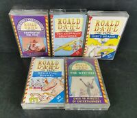 Roald Dahl on Tape Audio Tapes Books Cassettes x 5