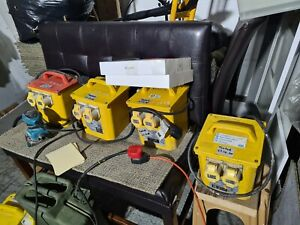 1 x 3.3kVA 220v to 110v Site Transformer 2 X 16A Outlets cash on collection only
