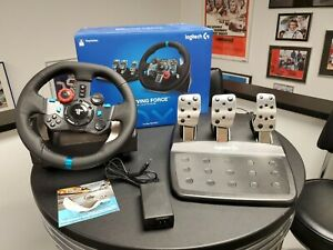 Logitech G29 Driving Force Racing Wheel and Pedals for PS5, PS4, PS3 and PC Used