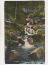 Hebers Ghyll Yorkshire England Vintage Postcard Shuttleworth Us067