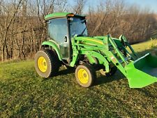 "John deere 4720 cab tractor loader 72"" belly mower. 1900hrs."