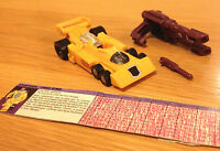 Transformers G1 DRAG STRIP - Hasbro Takara 1986 - 100% Complete