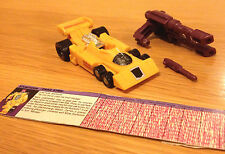 Transformers G1 Drag Strip-HASBRO TAKARA 1986 - 100% COMPLETO