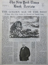 1939 November 12 WILLIAM WHITE THE CHANGING WEST - HIGGINS NY Times Book Review