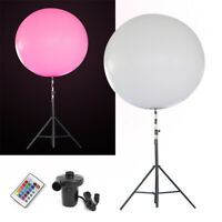 Advertising wedding party Inflatable Stand Tripod Balloon LED RGB for Event 1.5M