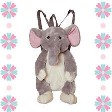 "Cartoon 14"" Backpack Animal Plush ELEPHANT Doll Toy Bag NEW"