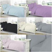 TC 200 Egyptian Cotton 40 cm Deep Fitted Bed Sheet Single Double King Pillow Cas