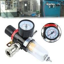 14 Air Brush Filter Regulator Gauge Compressor Water Moisture Trap Max 150psi