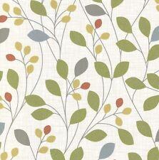 Wallpaper Belgravia - Retro Leaves Trail / Sparkle Glitter - Isla Natural - 4102