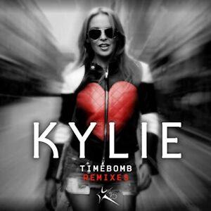 "Kylie Minogue ""TIME BOMB"" Remixes Card-Sleeve CD 2014"