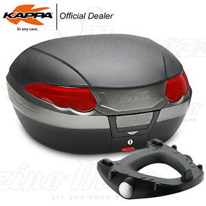 Set Coffre kappa K56 (E55) + Plaque Monokey BMW R 1200 GS 2013-2018