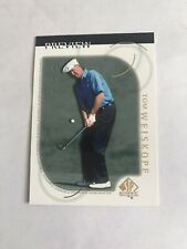 2001 SP Authentic Golf Preview Tom Weiskope