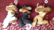 OLYMPIC GAMES SARAJEVO 1984, VUČKO, 3 DIFFERENT PLUSH TOYS, NEED CLEANINIG.