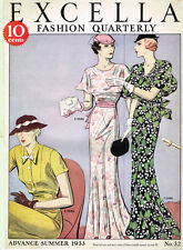 1930s Excella Summer 1933 Quarterly Pattern Catalog 34 pg Ebook Copy on CD
