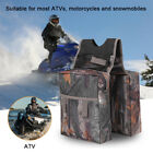Waterproof Camouflage Padded Storage Saddle Bag For ATV Motorcycle Snowmobile