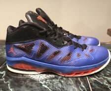 Nike Air Jordan Melo M8 Advance Game Men's 11 Royal Blue Team Orange 542240-407