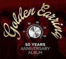 GOLDEN EARRING - 50 YEARS ANNIVERSARY ALBUM 4 CD+DVD NEW+
