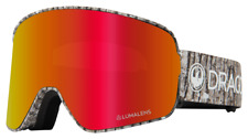 2020 Dragon NFX2 Goggles in Blizzard Frame w/Red Ion & Amber Lenses