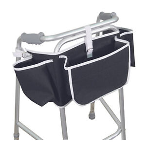 Aidapt Strong Apron Storage Carry Bag for Walking Frame Lightweight and Foldable