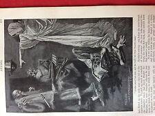 m2a ephemera 1905 book plate ayesha waved her arm she haggard