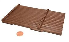 "Playmobil Log Cabin Long ""Wood"" Side Wall Spare Part 3826 5918"