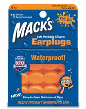 MACKS Moldable Silicone Ear Plugs Kids Size 6 Pairs #10