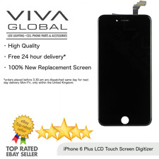 """For iPhone 6 Plus 5.5"""" Display Touch Screen Digitizer LCD Replacement In Black"""